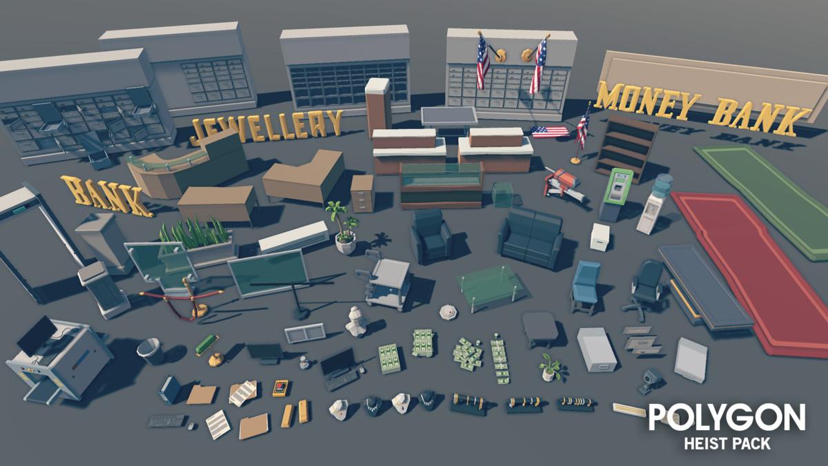 POLYGON - Heist Pack - Asset Store
