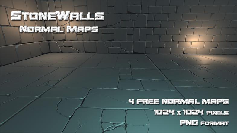 StoneWalls Normal Maps - Asset Store