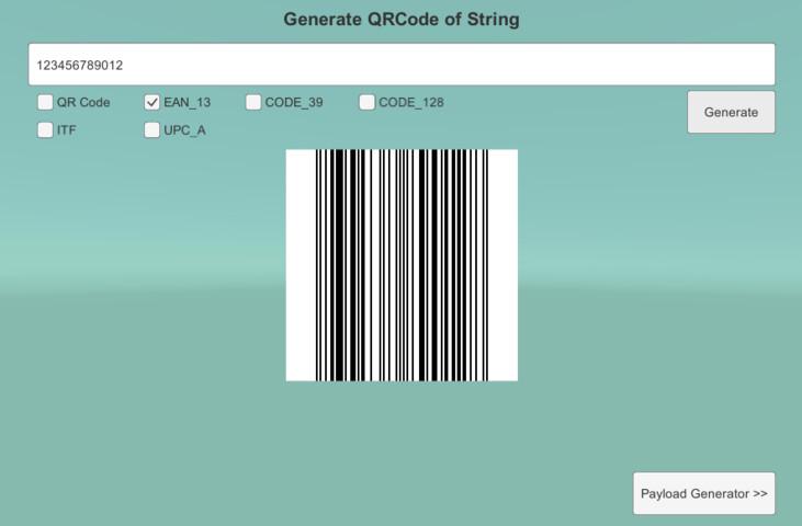 QR/Barcode Reader and Generator - Asset Store