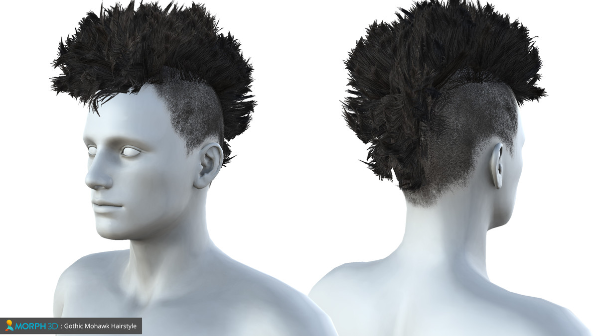Mcs Male Hair Pack 1 Asset Store