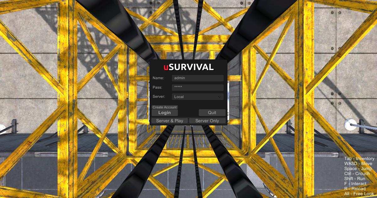 uSurvival - Asset Store