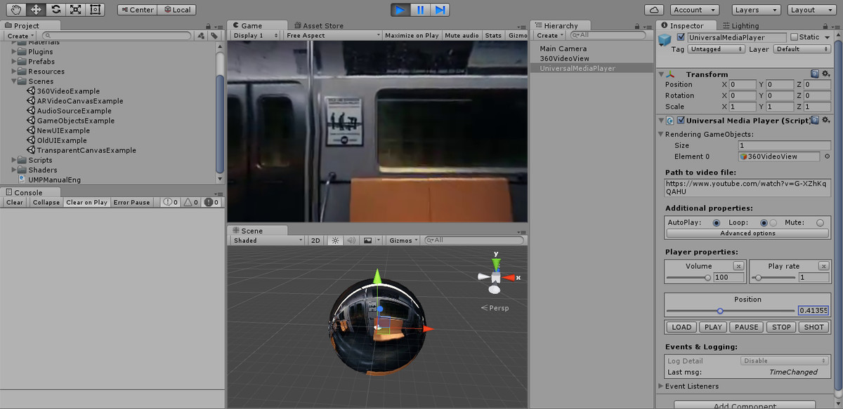 UMP (Win, Mac, Linux, WebGL) - Asset Store