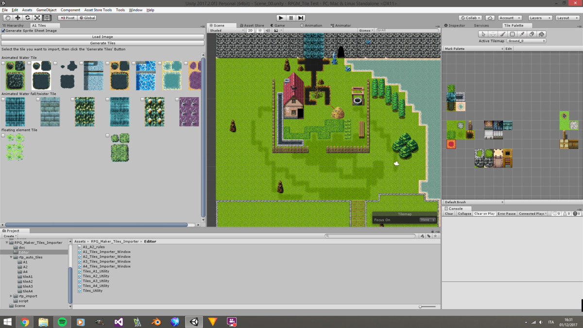RPG Maker Auto Tile Impoter - Asset Store