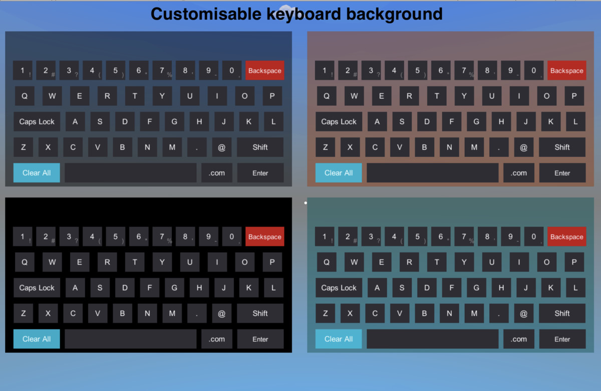 VR Keyboard - Asset Store
