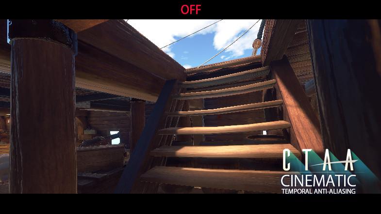 CTAA Cinematic Temporal Anti-Aliasing PC & VR - Asset Store