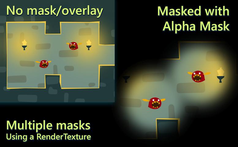 Alpha Mask: UI, Sprites, Tilemaps, Particles, 3D - Asset Store