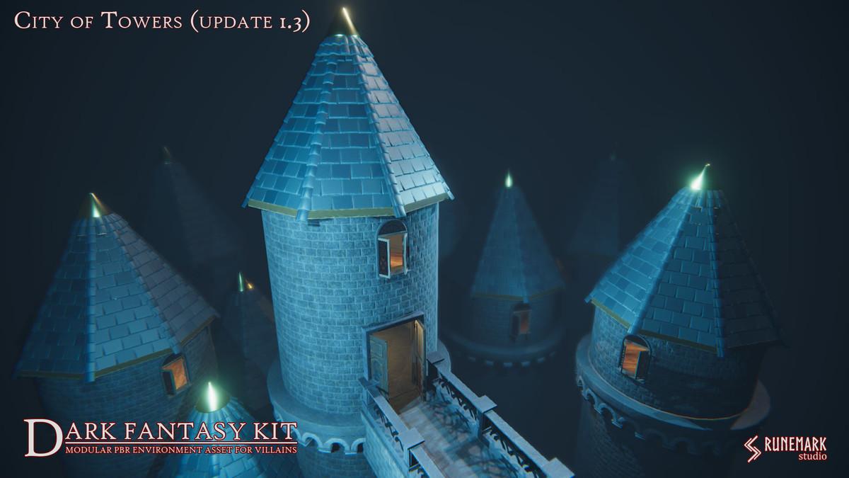 Dark Fantasy Kit - Asset Store