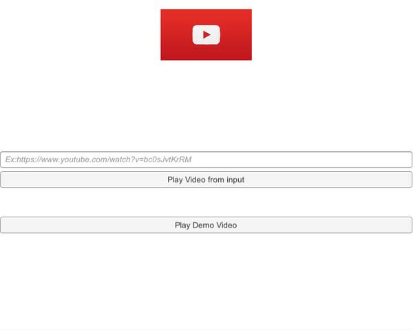 Youtube Video Player + Youtube API V3 - Asset Store