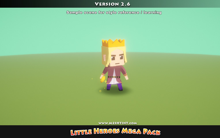 Little Heroes Mega Pack - Asset Store