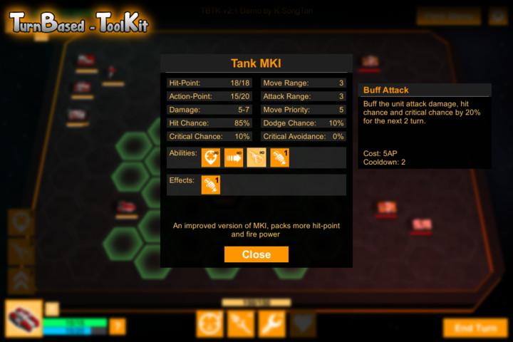 Turn-Based ToolKit (TBTK) - Asset Store