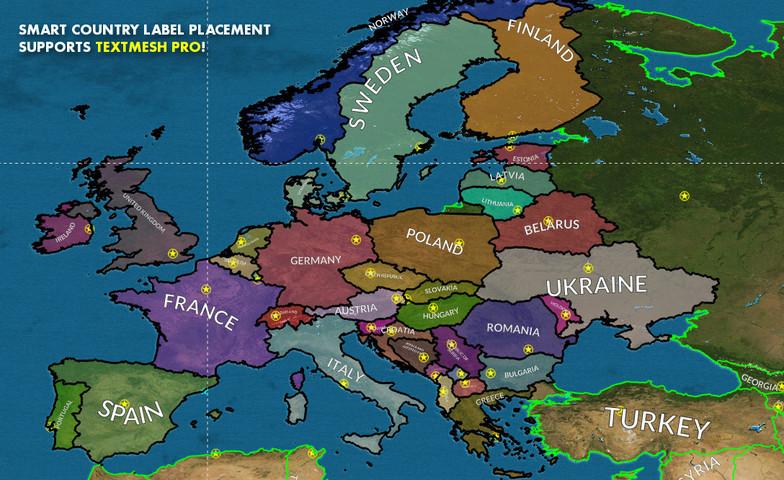 World Map Strategy Kit Asset Store
