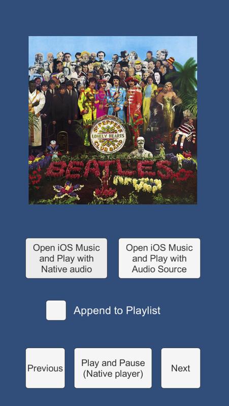 iOS Music - Asset Store
